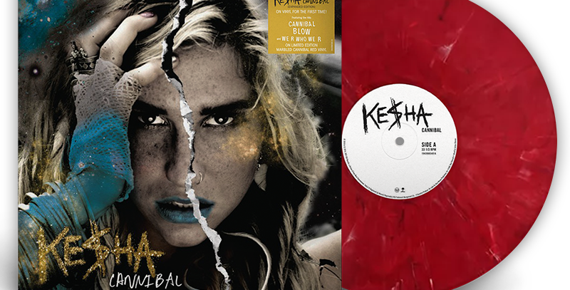 Kesha - LP Cannibal (Expanded Edition) Vermelho Limitado