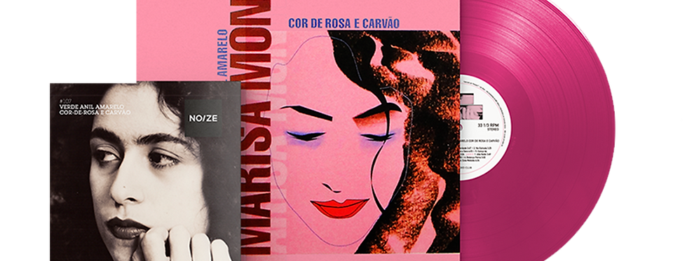 Marisa Monte - LP Verde Anil Amarelo Cor De Rosa e Carvão + Revista Noize