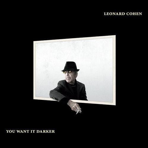 Leonard Cohen - You Want It Darker LP Limitado Branco
