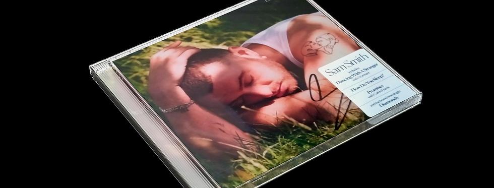 Sam Smith - CD Autografado Love Goes