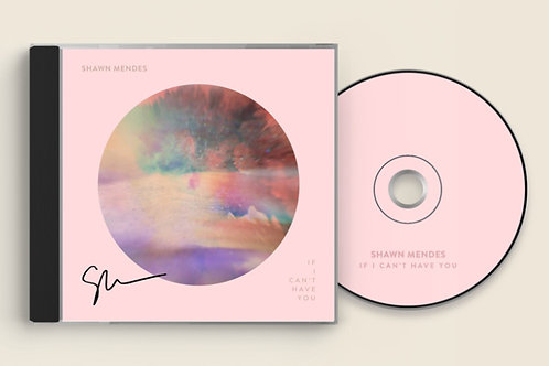 """Shawn Mendes - CD """"If I Can't Have You"""" + Card Autografado"""