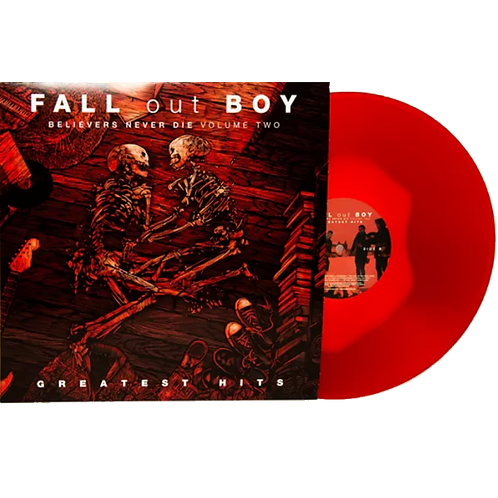 Fall Out Boy - LP Greatest Hits: Believers Never Die - Volume Two Vermelho Limit