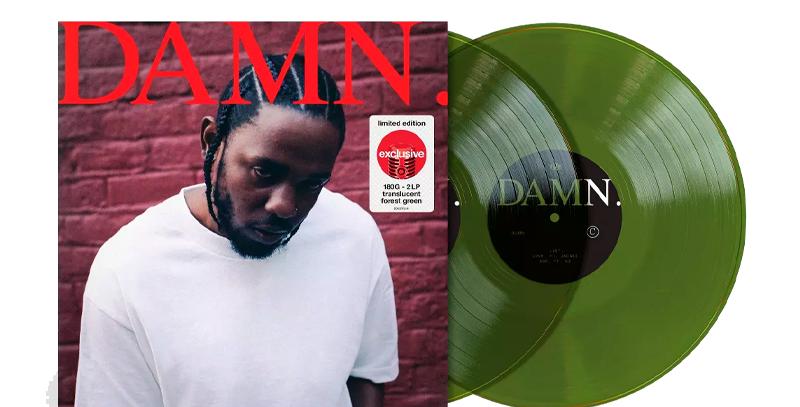 Kendrick Lamar - 2x LP Damn Limitado Verde Target Exclusive