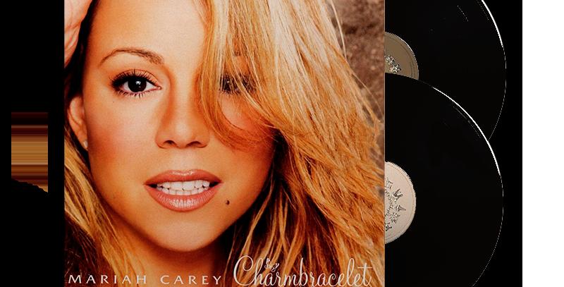 Mariah Carey - 2x LP Charmbracelet Preto