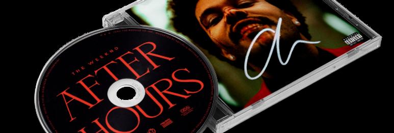 """The Weeknd - CD Autografado """"After Hours"""" Holográfico"""