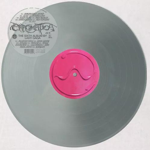 Lady Gaga - LP Chromatica Prata Limitado
