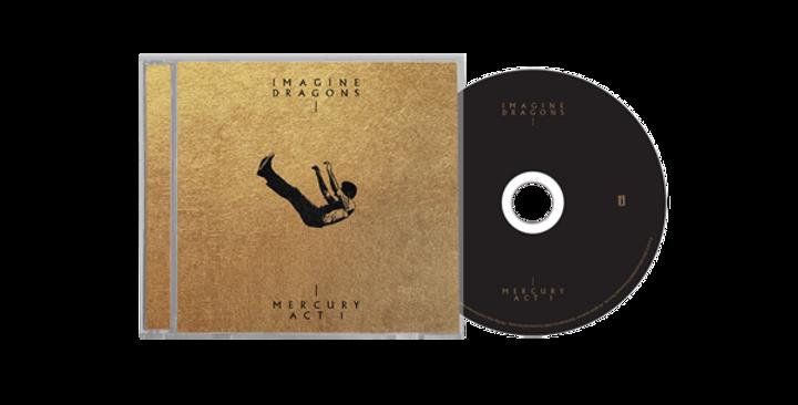 Imagine Dragons - CD Autografado Mercury Act 1