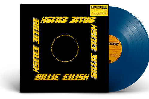 Billie Eilish - LP Live At Third Man Records Azul Limitado - Record Store Day