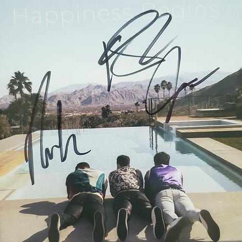 Jonas Brothers - CD Happiness Begins Autografado
