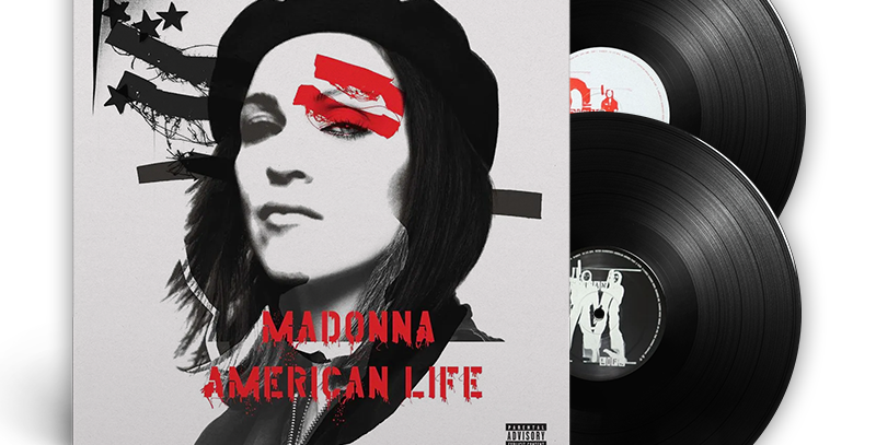 Madonna - 2x LP American Life [Leve Avaria]