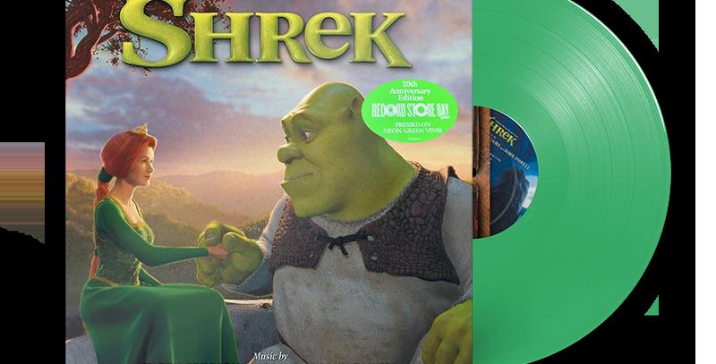 Shrek - LP Original Soundtrack Verde RSD 2021
