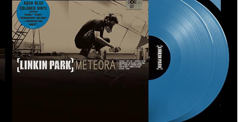 Linkin Park - 2x LP Meteora Azul RSD 2021