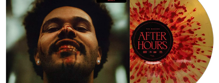 The Weeknd - 2x LP After Hours Limitado Splatter Target Exclusive