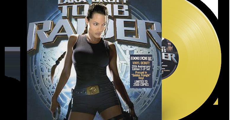 2x LP Lara Croft Tomb Raider - 20th Anniversary) Dourado RSD 2021