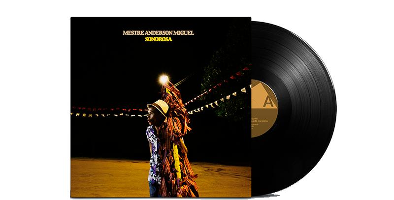Mestre Anderson Miguel - LP Sonorosa Três Selos Limitado