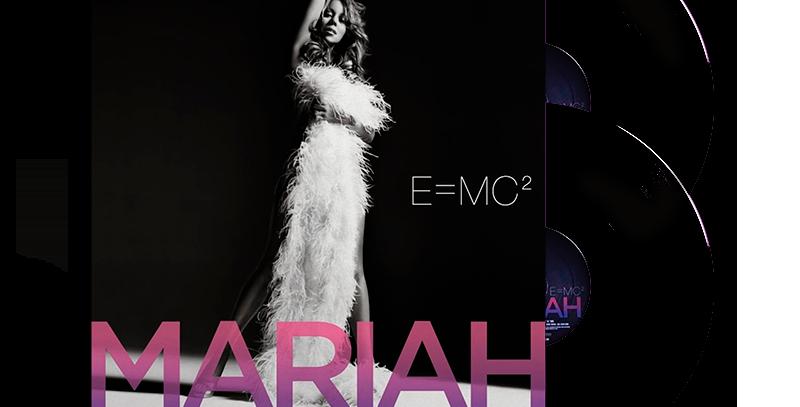 Mariah Carey - 2x LP E = MC2 Preto