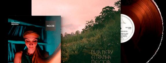 Livia Nery - LP Estranha Melodia Limitado Noize Marrom + Revista