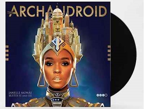 Janelle Monae - The Archandroid 2x LP