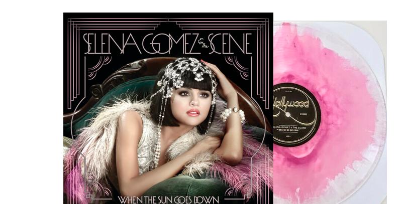 Selena Gomez & The Scene -  LP When The Sun Goes Down Limitado
