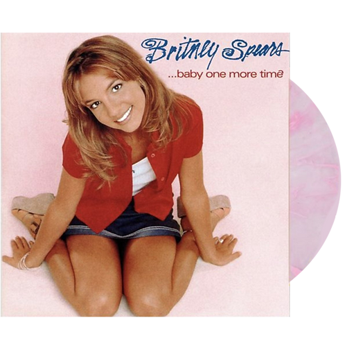 Britney Spears - Baby One More Time Limitado Rosa Splatter LP
