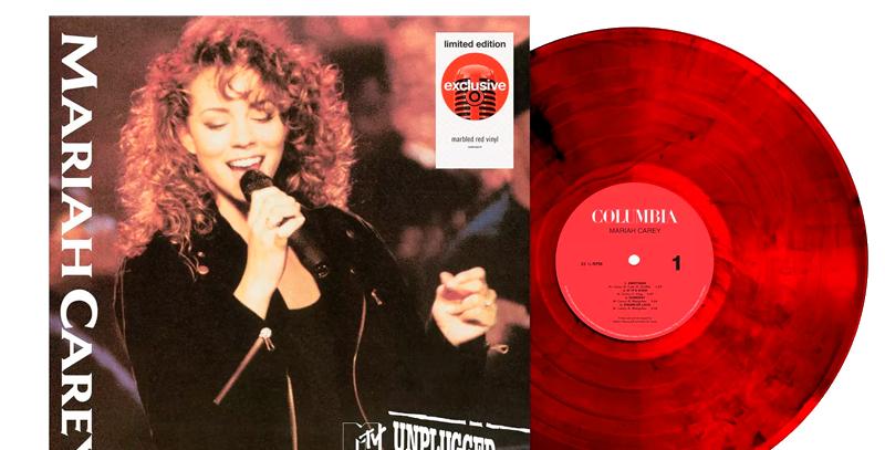 Mariah Carey - LP MTV Unplugged Target Exclusive Vermelho Limitado