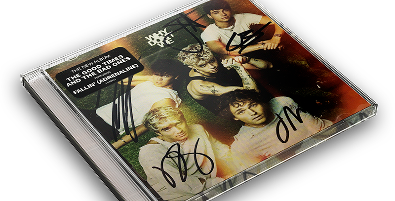 Why Don't We - CD Autografado The Good Times And The Bad Ones