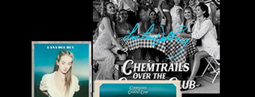 Lana Del Rey - Cassete Chemtrails Over the Country Club #2+ ArtCard Autografado