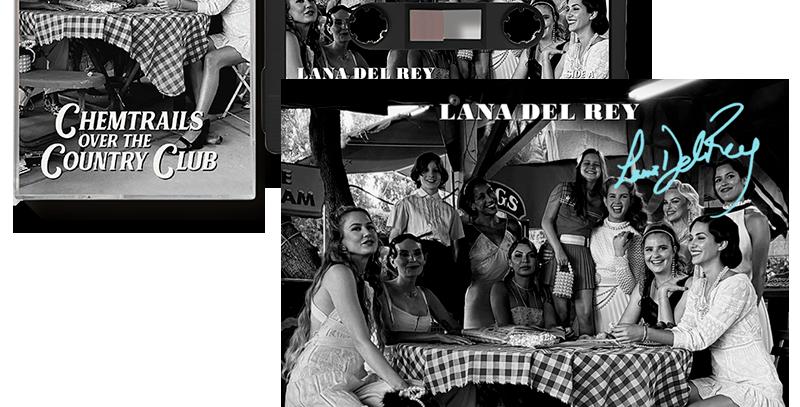 Lana Del Rey - Cassete Chemtrails Over the Country Club + ArtCard Autografado