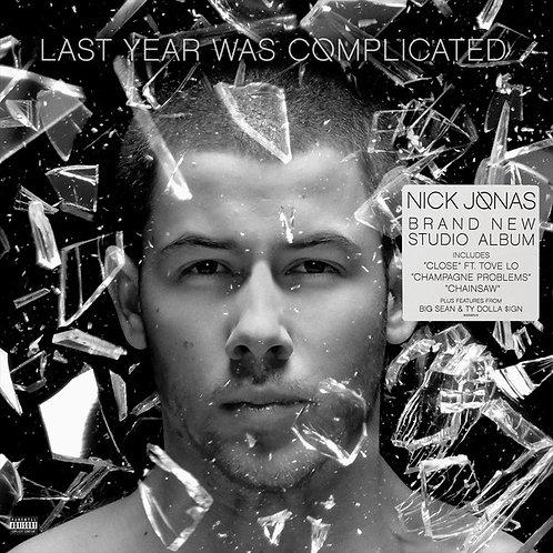 Nick Jonas - LP Transparente Last Year Was Complicated Limitado