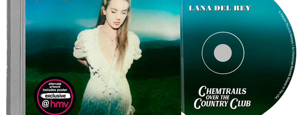Lana Del Rey - CD Chemtrails Over the Country Club [HMV Exclusive]
