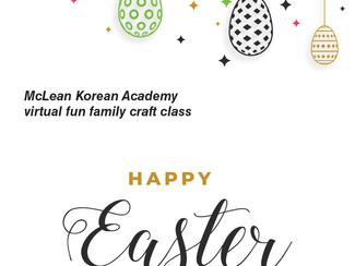 Virtual fun family craft class, 3/27