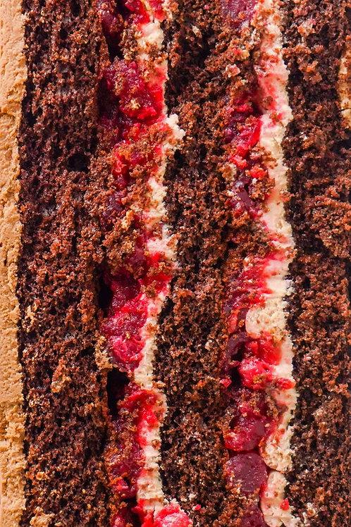 Тортик вишня-Єгермайстер