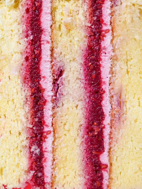 Тортик Малиновий