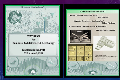 STATISTICS  For  Business, Social Science & Psychology