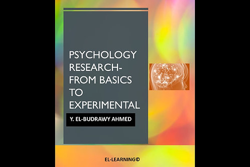 Psychology Research From basics to experimental
