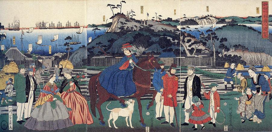 1861年(万延2/文久元年)