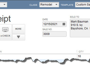 All About Sales Receipts in QuickBooks