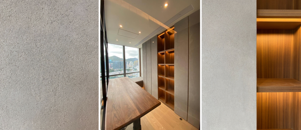 Mineral Finishes on cabinets