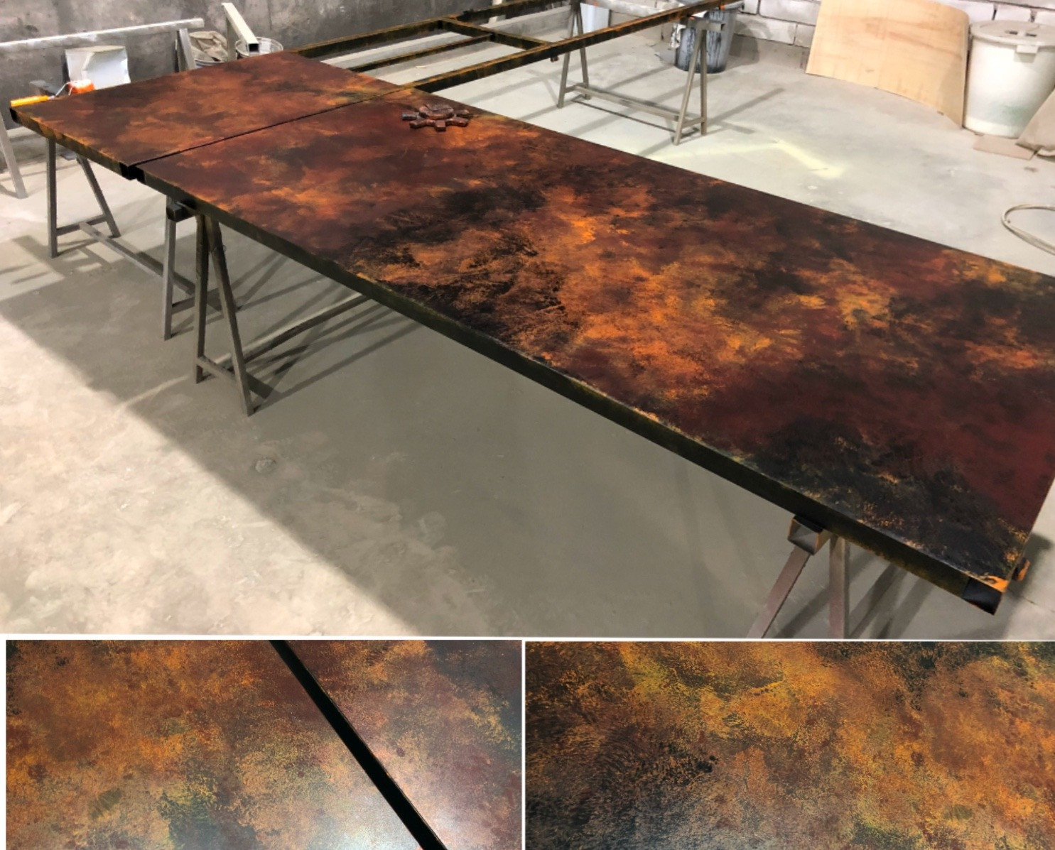 Rusty painting