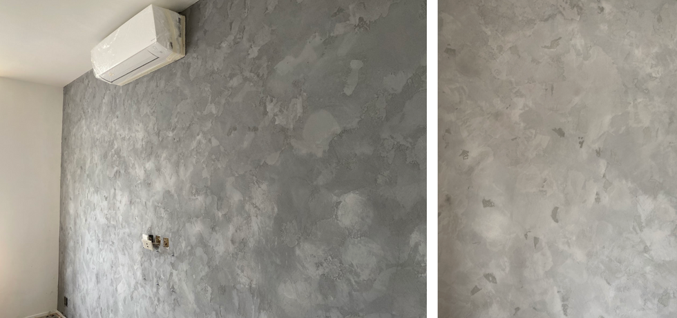 Mineral Finishes on wall