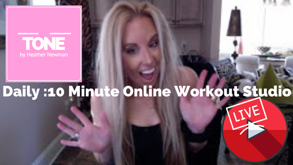 Do you want to workout together for :10 minutes daily??!!  ALL LEVELS - BEGINNERS ARE GONNA LOVE IT!
