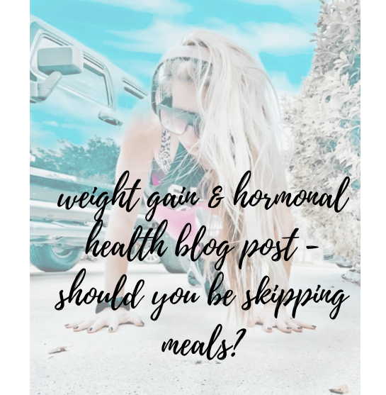 INTERMITTENT FASTING AND HORMONAL HEALTH