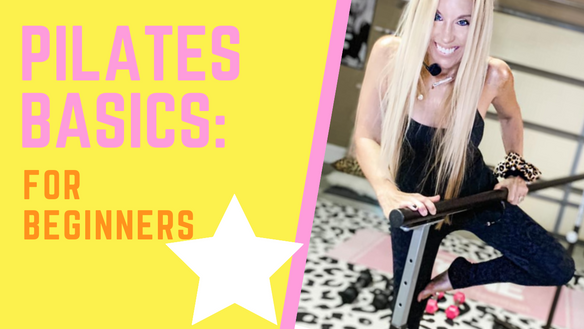 PILATES BASICS: Exercises for Beginners on the MAT...where it all began! get your free guide