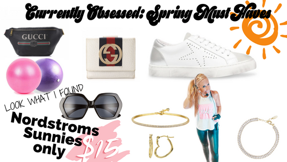Spring MUST HAVES: CURRENTLY OBSESSED
