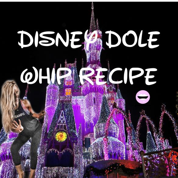 Disney world Dole Whip Recipe: Healthy from Home: DisneyLand