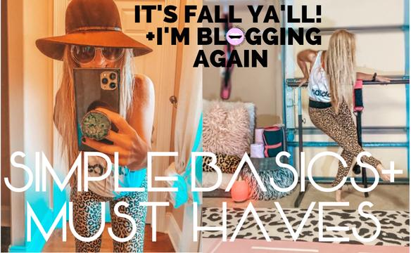 FALL WARDROBE ESSENTIALS: hat & sunnies dressed up or down! glitteru.com