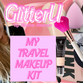 what's in my TRAVEL MAKEUP KIT  LINKS TO EVERYTHING I USE - VIDEO ENCLOSED! + a new texting system!