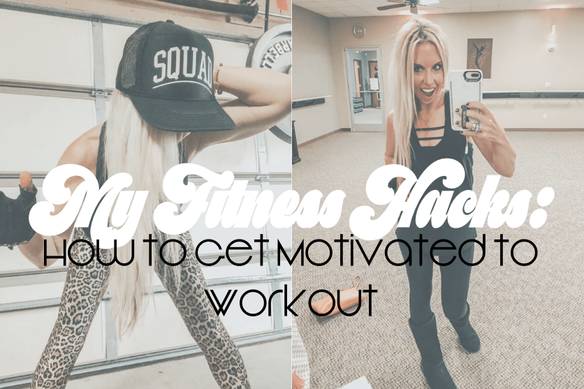 My Fitness Hacks: How to get motivated to workout | Heather Newman