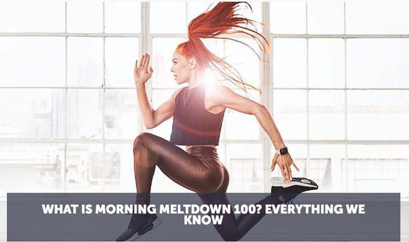 Morning MeltDown 100 | New program releasing July 2019