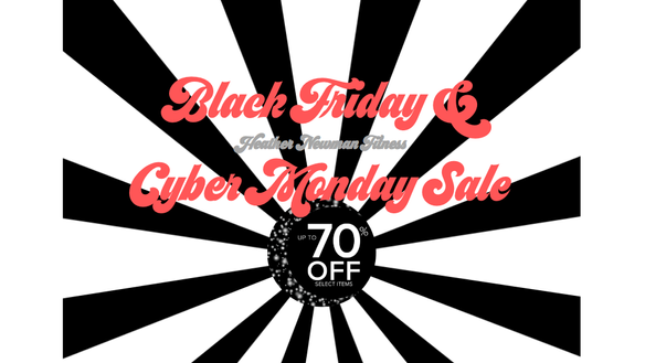 2019 Black Friday & Cyber Monday Sale | Heather Newman Fitness